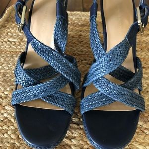 Banana Republic Raine wedge sandals